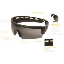 ArcLite Ethos 3 Lens Kit Yellow Lens (Gray and Clear included)