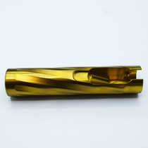 Gold bolt shroud by Anarchy Outdoors.