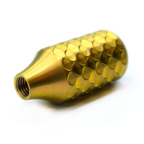GOLD Titanium Dragon Scale Bolt Knob - LIMITED EDITION