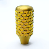 GOLD Titanium Dragon Scale Bolt Knob - LIMITED EDITION
