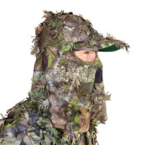 Forest Camo Hats w/Face Concealment
