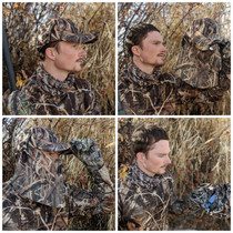 Quik Camo waterfowl camo hat and face mask