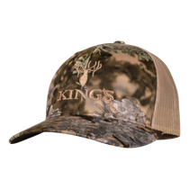 Kings Camo Snapback Hat in Mountain Shadow