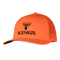 Kings Blaze Orange Snapback Hat