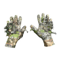 3D Leafy Camo Gloves