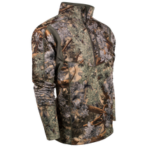 Hunter Series 1/4 Zip Pullover Shirt in Desert Shadow