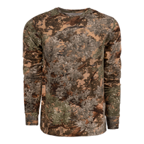 classic series long sleeve hunting tee in Desert Shadow