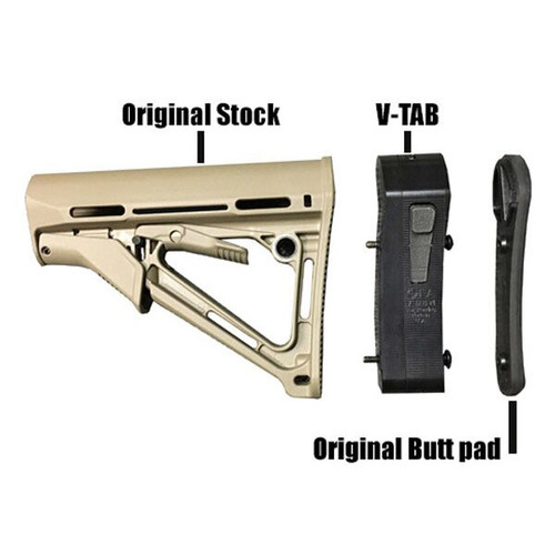V-TAB-M Vertical Tactical Adjustable Buttstock for Magpul