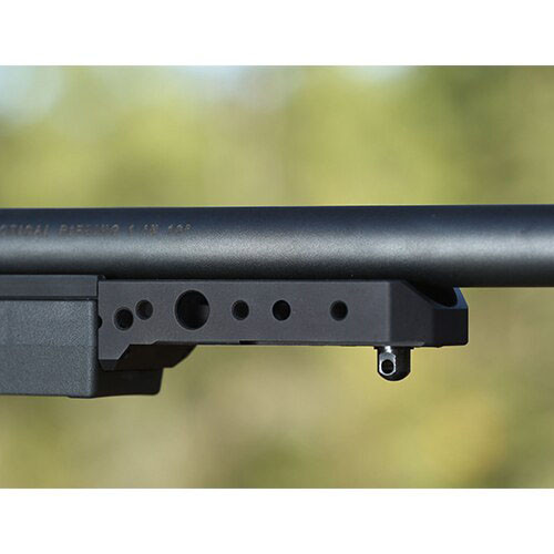 Spigot Mount On the front of a KRG Chassis barrel installed. Fits Whiskey-3 Chassis, X-ray, or Bravo chassis.