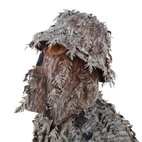 3D Camo Boonie hat with face mask.