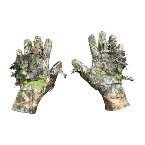3D Leafy Camo Gloves