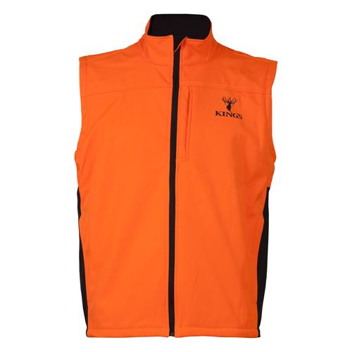 Blaze Orange Soft Shell Vest
