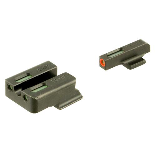 TruGlo TFX PRO Tritium & Fiber-Optic Xtreme Sight (Fits Ruger American 9mm & .45 ACP)