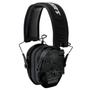 Walker Razor Slim Electronic Polymer 23 dB Over the Head Typhoon Camo Ear Cups w/Black Band