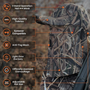 Waterfowl Camo Hats w/Face Concealment