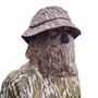 Camo Boonie hat with face mask.