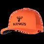 Kings Blaze Orange Snapback Hat