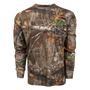 classic series long sleeve hunting tee in Realtree Edge