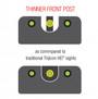 Trijicon HD XR Night Sights (Fits CZ P10/P10C)