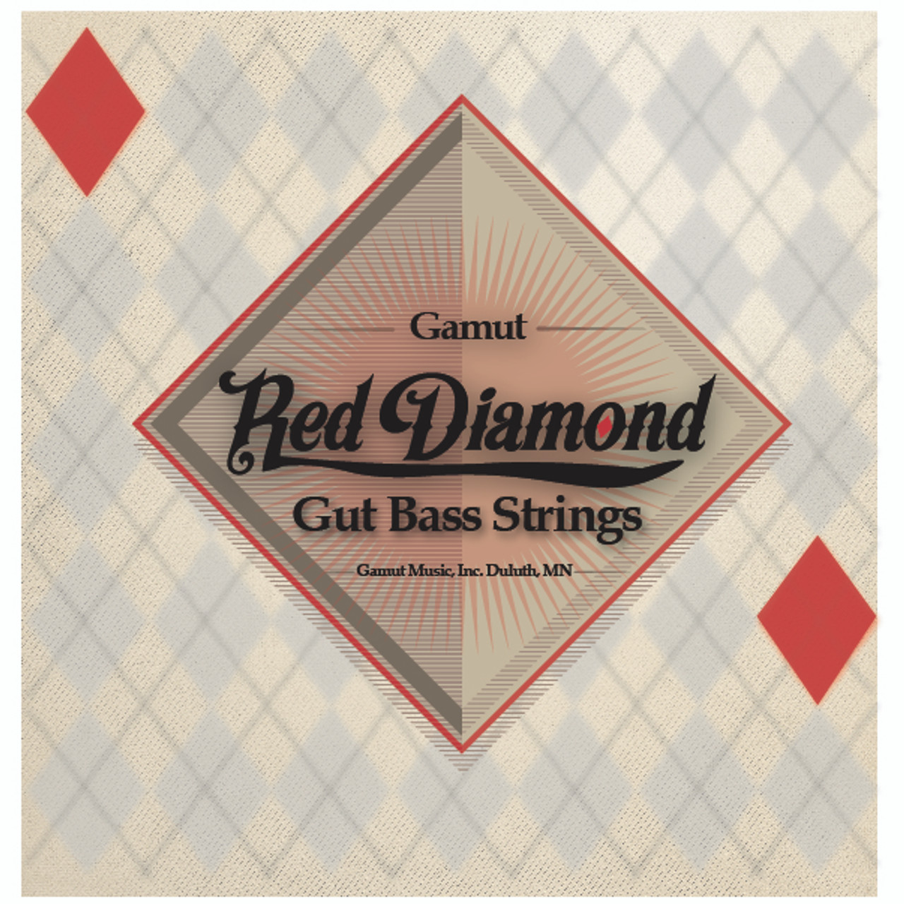 Red Diamond Bass String Set