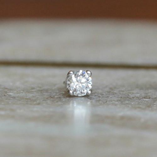 Prong set Diamond
