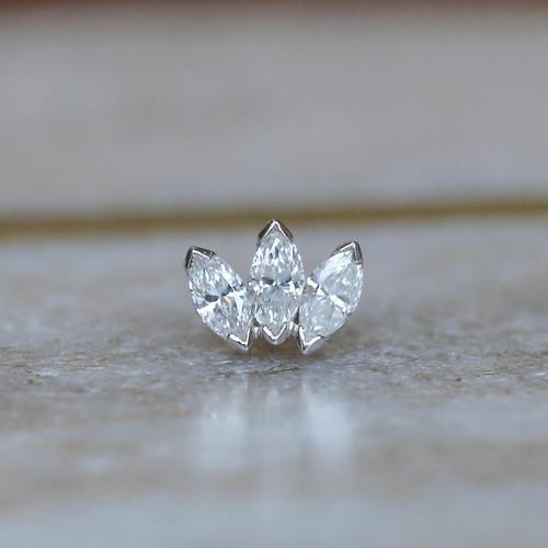 Marquise Diamond Fan