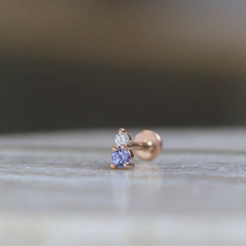 Jeanie 2 - Tanzanite & Diamond