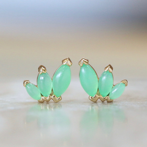 French Kiss - Chrysoprase