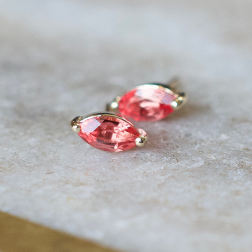 Padparadscha Sapphire Marquise