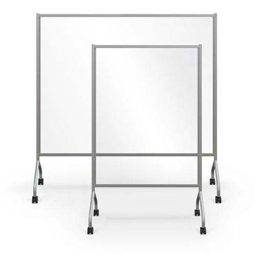 MooreCo Essentials Mobile Clear Divider (Large - Platinum)