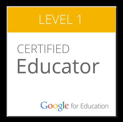 Google Certified Educator Level 1 Bootcamp