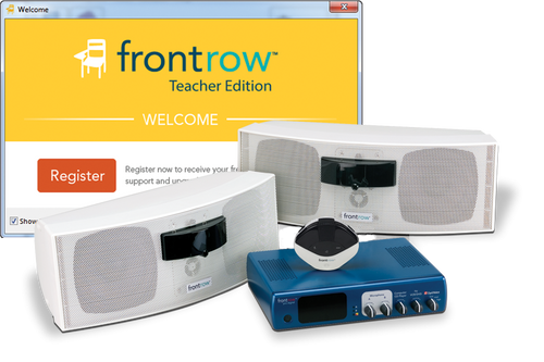 FrontRow Pro Digital System with IR Speakers and Lesson Capture