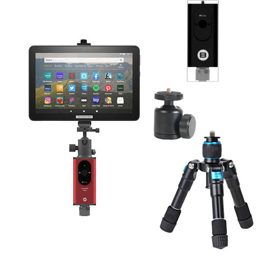 Jigabot Smartphone/Tablet Mount Bundle