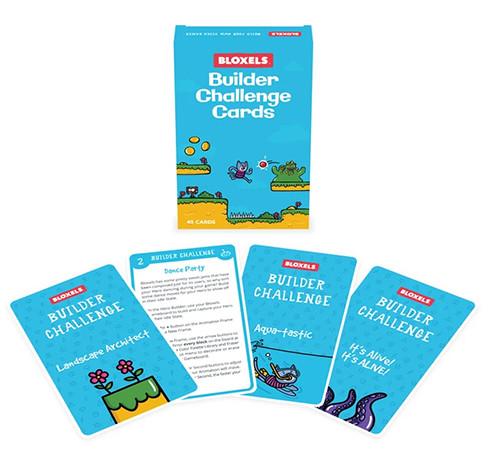 Bloxels Builder Challenge Cards