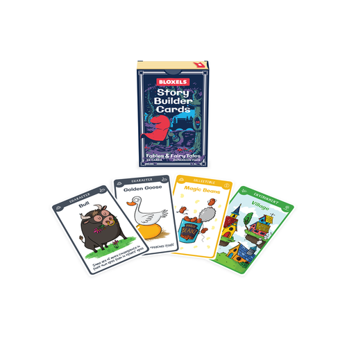 Bloxels Fairy Tale Cards