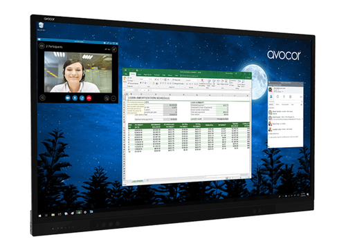 Avocor ALZ Series - InGlass-based Zoom Room System