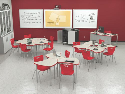 MooreCo_Classroom X_shapes desk