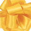 Yellow Chiffon Contessa Wired Satin Ribbon