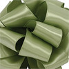 Spring Moss Wired Satin Ribbon