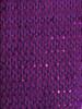 Purple Wired Metallic Ribbon - Starleene