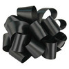 Black Wholesale Double Faced Satin Ribbon.