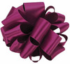 Purple Wine Double Faced Satin Ribbon