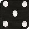 Black & White Grosgrain Polka Dots