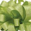 Green Satin Glitter Ribbon