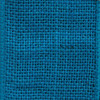 Turquoise Solid Wire Burlap Ribbon