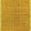 Yellow Wired Burlap Ribbon