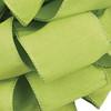 Clean Green Anisha  Wired Edge Ribbon