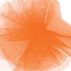 Solid Tulle Fabric - Orange