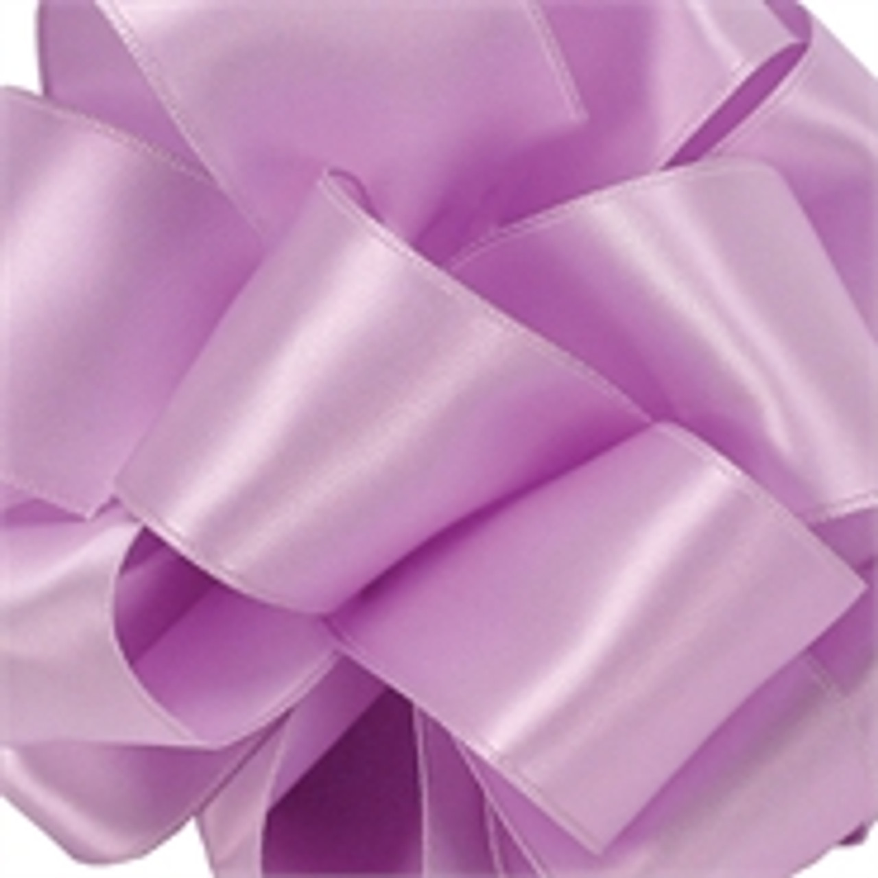 Light Orchid Wired Satin Ribbon