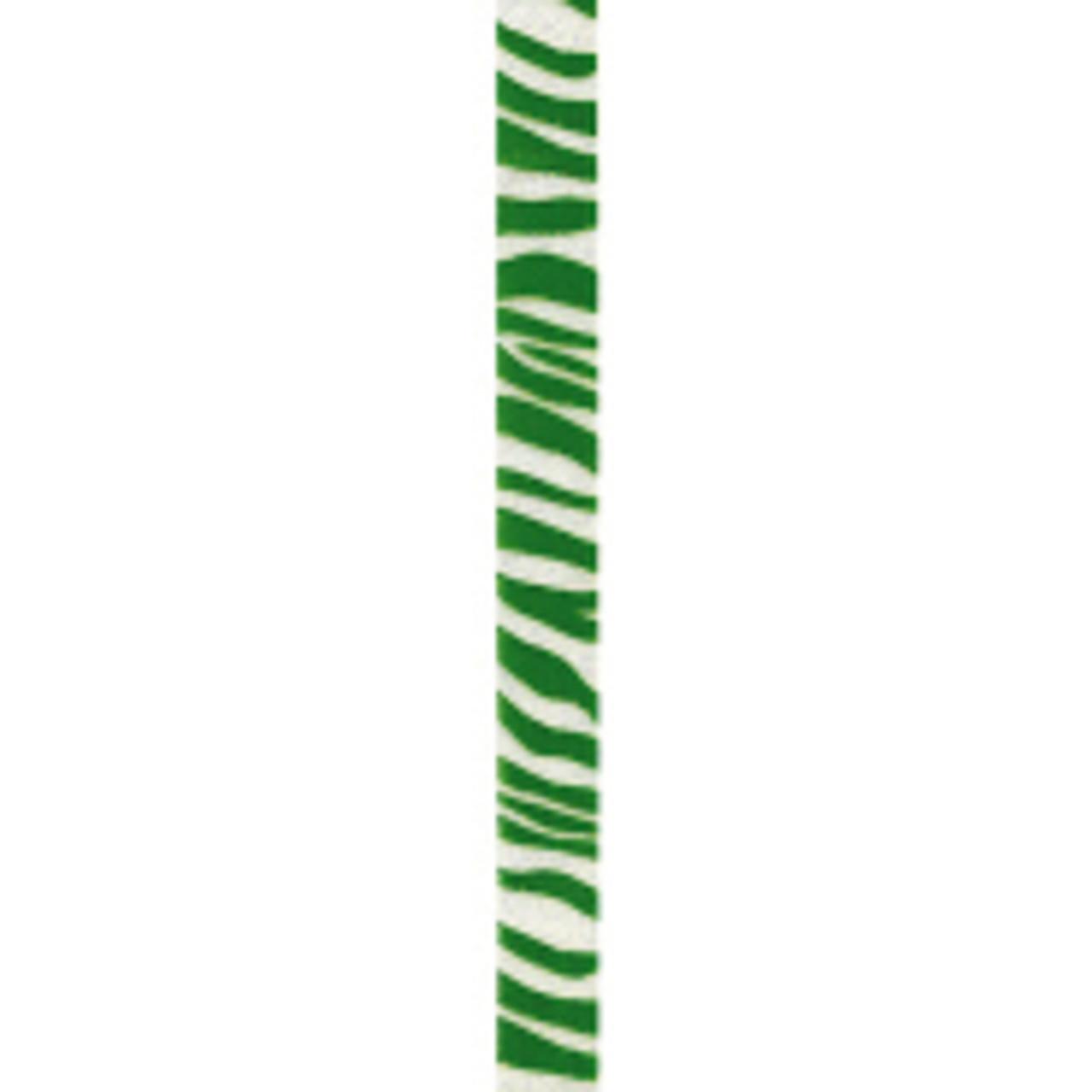 Green Zebra Crystal Ribbon